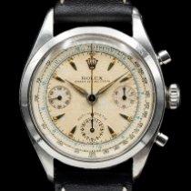 Rolex Chronograph Сталь 36mm Белый