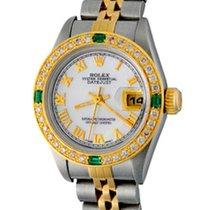 Rolex Lady-Datejust Acier 25mm Nacre Romains