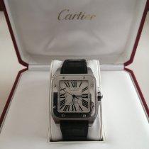 Cartier Santos 100 Acier Blanc Romains France, Brive