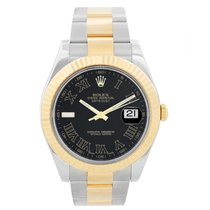 Rolex Datejust II Gold/Steel 41mm Black Roman numerals United States of America, Texas, Dallas