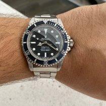 Rolex Submariner (No Date) Сталь Черный