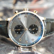 IWC Rose gold Automatic Grey Arabic numerals 40.9mm new Portuguese Chronograph
