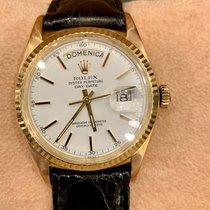 Rolex Day-Date Oro rosa 36mm Blanco Sin cifras