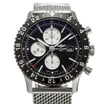 Breitling Chronoliner Steel 46mm Black United States of America, Texas, Houston