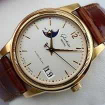 Glashütte Original Senator Panorama Date Moon Phase Rose gold 39mm Silver Arabic numerals