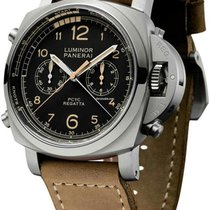 Panerai PAM 00652 Titanio 2018 Luminor 1950 Regatta 3 Days Chrono Flyback 47mm nuevo