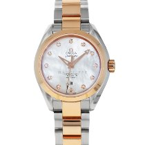 Omega Seamaster Aqua Terra Gold/Steel 34mm Mother of pearl No numerals United States of America, Maryland, Baltimore, MD