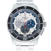 Zenith El Primero Stratos Flyback Steel 45mm Silver United States of America, Georgia, Atlanta