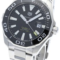TAG Heuer Steel 43mm Automatic WAY201A.BA0927 new