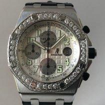 Audemars Piguet Royal Oak Offshore Chronograph Stahl 42mm Weiß Arabisch Deutschland, München