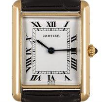 Cartier Tank Louis Cartier Yellow gold 23mm White Roman numerals