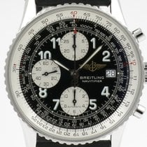 Breitling Old Navitimer Steel 41,5mm Black Arabic numerals