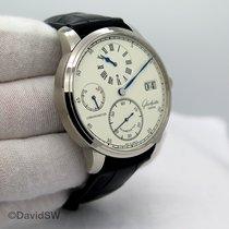 Glashütte Original Senator Chronometer Regulator Weißgold Silber