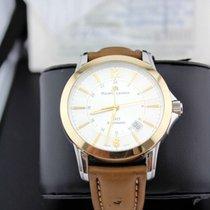 Maurice Lacroix Uhr gebraucht 2000 Gold/Stahl 40.2mm Arabisch Automatik Nur Uhr