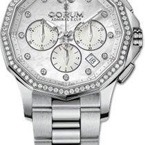 Corum Admiral's Cup Legend 38 nowość 2014 Automatyczny Chronograf Zegarek z oryginalnym pudełkiem i oryginalnymi dokumentami 132.101.47/V200 PN19