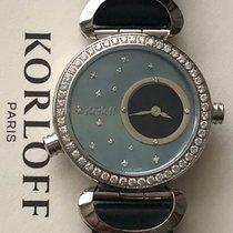 Korloff nuevo Cuarzo Con piedras preciosas y diamantes 32mm Acero