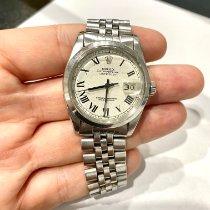 Rolex Datejust Acero 36mm Plata Romanos