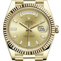 Rolex Day-Date 40 Yellow gold 40mm Gold No numerals United States of America, New Jersey, Totowa