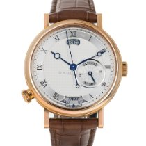 Breguet new Automatic Display back Central seconds Guilloché dial Guilloché dial (handwork) Tempered blue hands 43mm Red gold Sapphire crystal