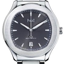 Piaget Polo S Steel 42mm Grey No numerals United States of America, Texas, Houston