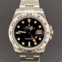 Rolex Explorer II neu 2020 Automatik Uhr mit Original-Box und Original-Papieren 216570