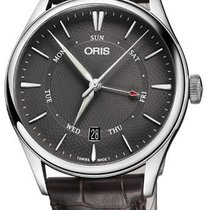 Oris 01 755 7742 4053-07 5 21 65FC Steel 2021 Artelier Pointer Day Date 40mm new