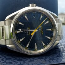 Omega Seamaster Aqua Terra Steel 41.5mm Blue No numerals United States of America, North Carolina, Kitty Hawk