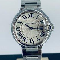 Cartier Ballon Bleu 36mm Acero 36mm Plata Romanos España, Boo de Pielagos