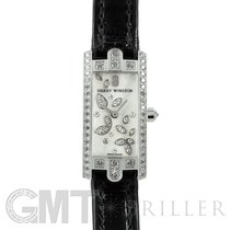 Harry Winston Avenue pre-owned 15.5mm Mother of pearl Leather