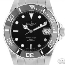 Davosa Steel 36.5mm Automatic 166.195.50 new