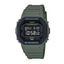 Casio G Shock DW5600 Special Colour Series Grey Resin Band  5M9RU