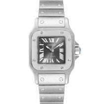 Cartier Santos Galbée Steel 24mm Grey Roman numerals United States of America, Georgia, Atlanta