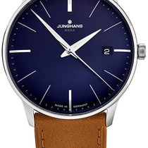 Junghans Meister MEGA Steel Blue United States of America, New York, Brooklyn