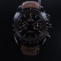 Omega Cerámica Automático Negro Sin cifras usados Speedmaster Professional Moonwatch