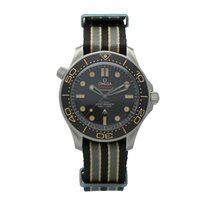 Omega Titanium Automatic Brown No numerals 42mm new Seamaster Diver 300 M