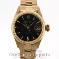 Rolex Or rose Remontage automatique 25mm occasion Oyster Perpetual Lady Date
