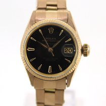 Rolex Rose gold Automatic 25mm pre-owned Oyster Perpetual Lady Date