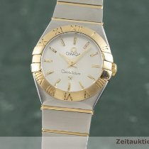 Omega Constellation Ladies Or/Acier 24.5mm Argent