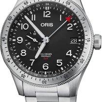 Oris Big Crown ProPilot GMT Steel 44mm Black Arabic numerals United States of America, California, Moorpark