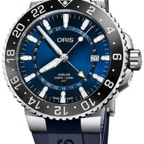 Oris Aquis GMT Date new Automatic Watch with original box 79877544135RS