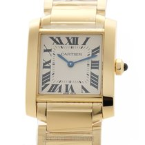 Cartier Tank Française new Quartz Watch with original box and original papers WGTA0032