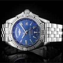 Breitling Galactic 44 Acier 44mm Bleu Sans chiffres