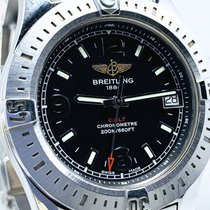 Breitling Colt 36 Steel 36mm Black No numerals