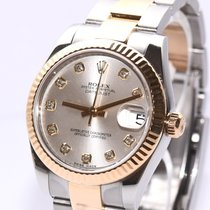 Rolex Lady-Datejust Gold/Stahl 31mm Silber Deutschland, Hamburg
