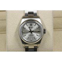 Rolex Oyster Perpetual 26 Acero 26mm Plata