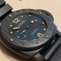 Panerai Luminor Submersible 1950 3 Days Automatic PAM 00616 Very good Carbon 47mm Automatic