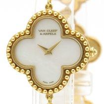 Van Cleef & Arpels Alhambra Yellow gold 26mm White