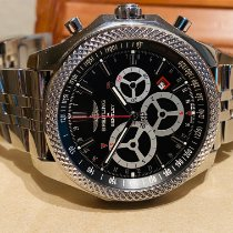Breitling Bentley Barnato Сталь 49mm Чёрный