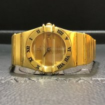 Omega Constellation Quartz Yellow gold 26mm Champagne No numerals Singapore, Singapore
