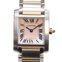 Cartier Tank Française new Quartz Watch with original box and original papers W51027Q4